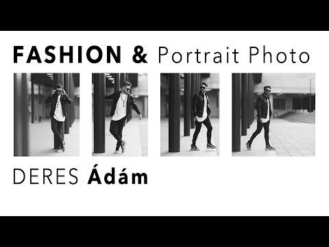 Deres Ádám fashion és portré fotózás - Slideshow-val!