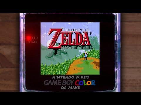 The Legend of Zelda: Breath of the Wild | Game Boy Color De-Make