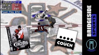 NHL Faceoff 2000 (Gameplay & Commentary) | THE COUCH