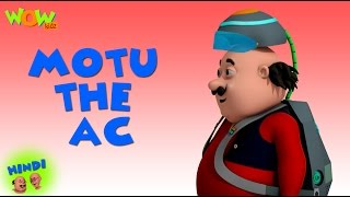 Motu Patlu Cartoons In Hindi | Animated cartoon | Motu the AC | Wow Kidz