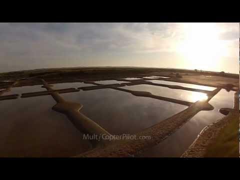 Guerande Salt Marshes - Marais salants de Guérande - Aerial - UAV FPV