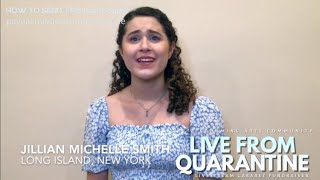 """The Secret of Happiness"" - Jillian Michelle Smith - Table Top Broadway's Live From Quarantine"