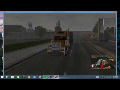 EURO TRUCK SIMULATOR 2 | WESTERN STAR 4900FA | DE LUXEMBOURG A LE HAVRE | LUIS GAME