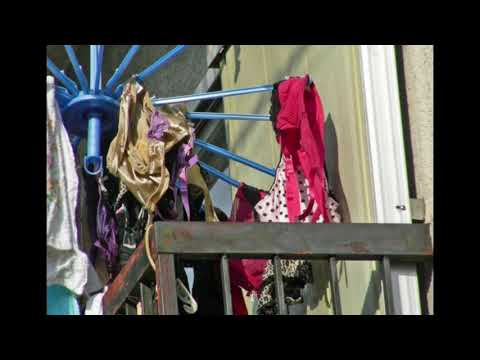 balcony panties 洗濯物風景 下着