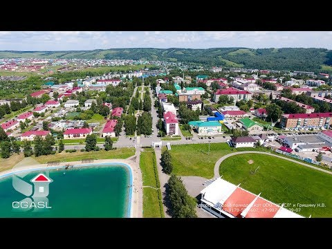Аэросъемка города Бавлы (Республика Татарстан)
