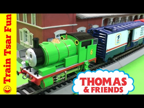 Percy Delivers United States Postal Service Mail Train - Thomas and Friends
