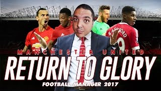 Manchester United Football Manager 2017 Beta Gameplay - Manchester Derby and UEFA Cup E03
