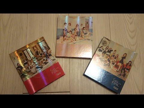 """트와이스 (TWICE) 4th Mini Album """"Signal"""" Unboxing"""