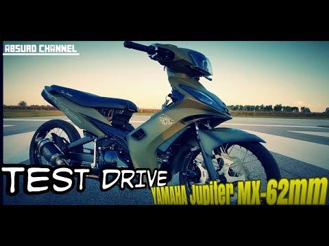 Test Drive Jupiter MX 62mm | Modifikasi Yamaha Jupiter MX Old