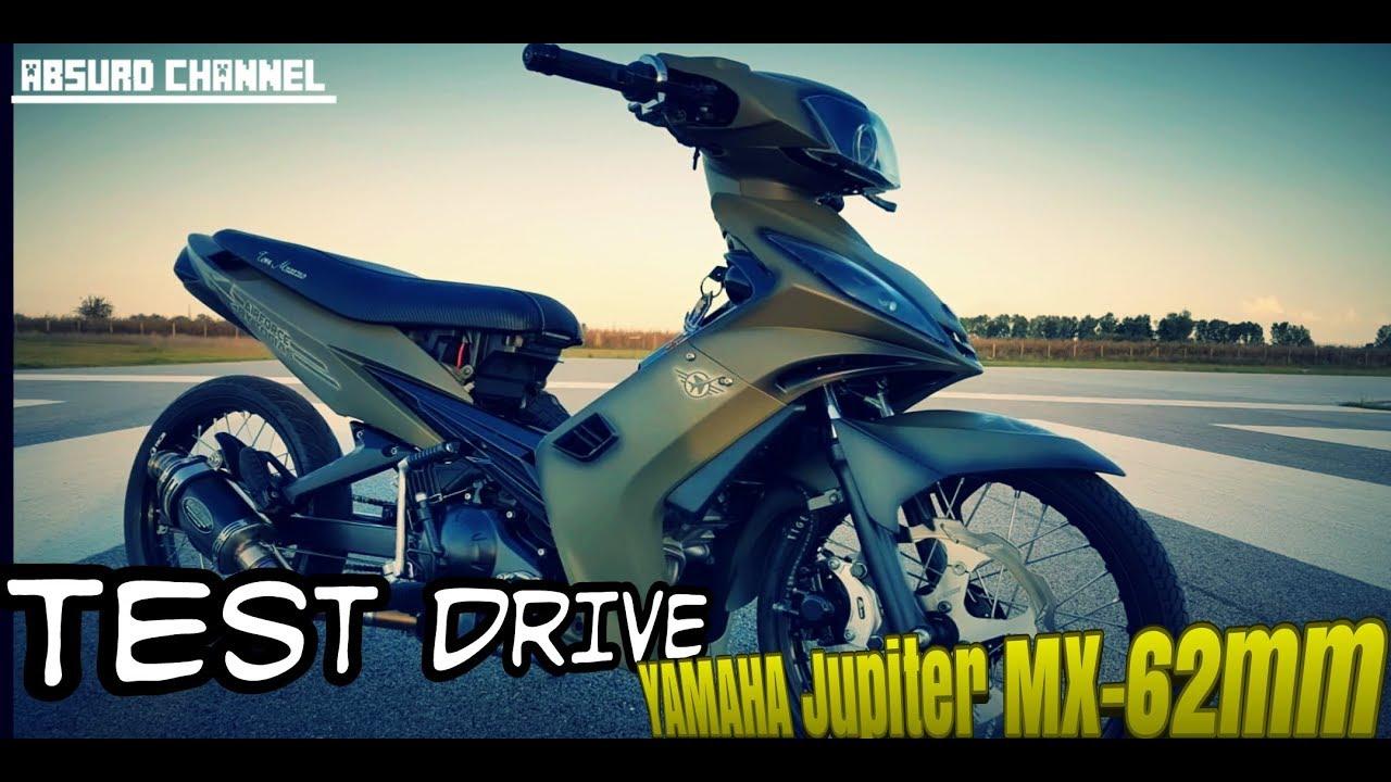 Test Drive Jupiter Mx 62mm Modifikasi Yamaha Jupiter Mx Old