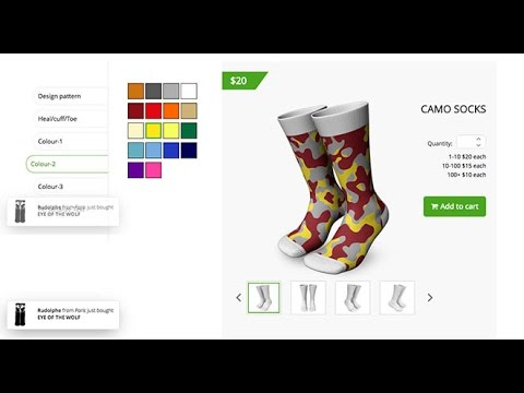 Selling Socks Design Software  @Low Cost!