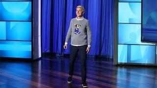 Ellen Keeps Up with Trending Challenges!