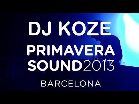 DJ Koze spins