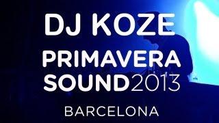 "DJ Koze spins ""Homesick""- Primavera Sound 2013"