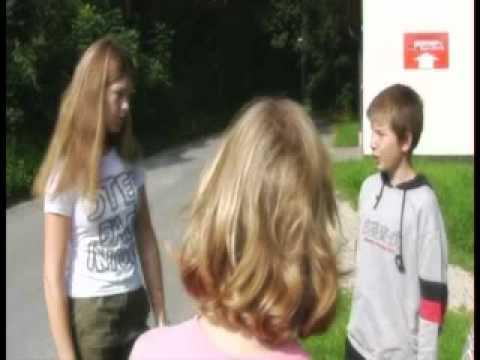 UFO abducts children (German film)