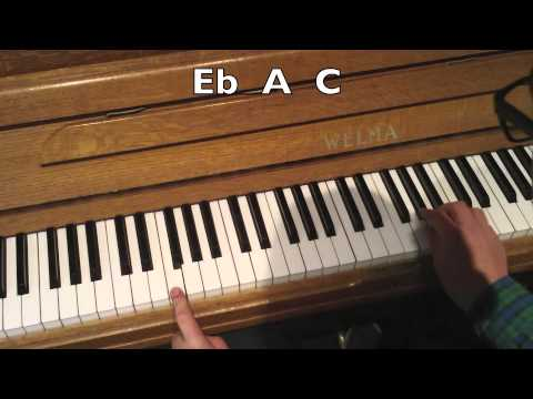 Piano Chord Voicing For F7 F13 Youtube
