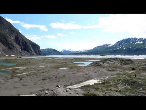 Alsek River, Lowell Lake, Lowell Glacier, Kluane National Park and UNESCO World Heritage Site
