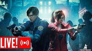 LIVE - RESIDENT EVIL 2 (REMAKE) 1-SHOT DEMO!