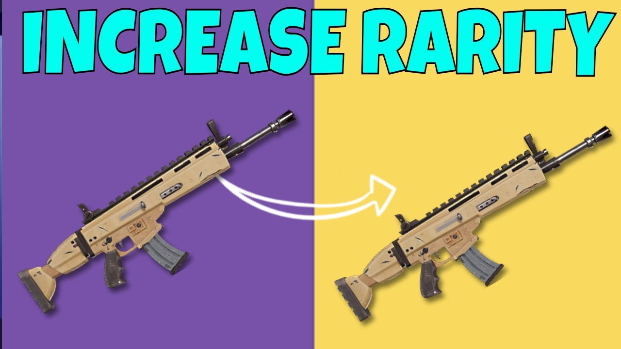 New gun in fortnite rarity