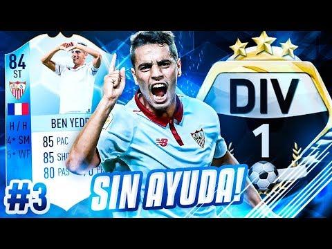 FIFA 18 | ROAD TO PRIMERA DIVISIÓN SIN AYUDA #3 | MI MEJOR GOL | PIKAHIMOVIC ULTIMATE TEAM RTG