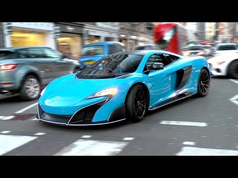 Supercars in London March 2018 Part 1