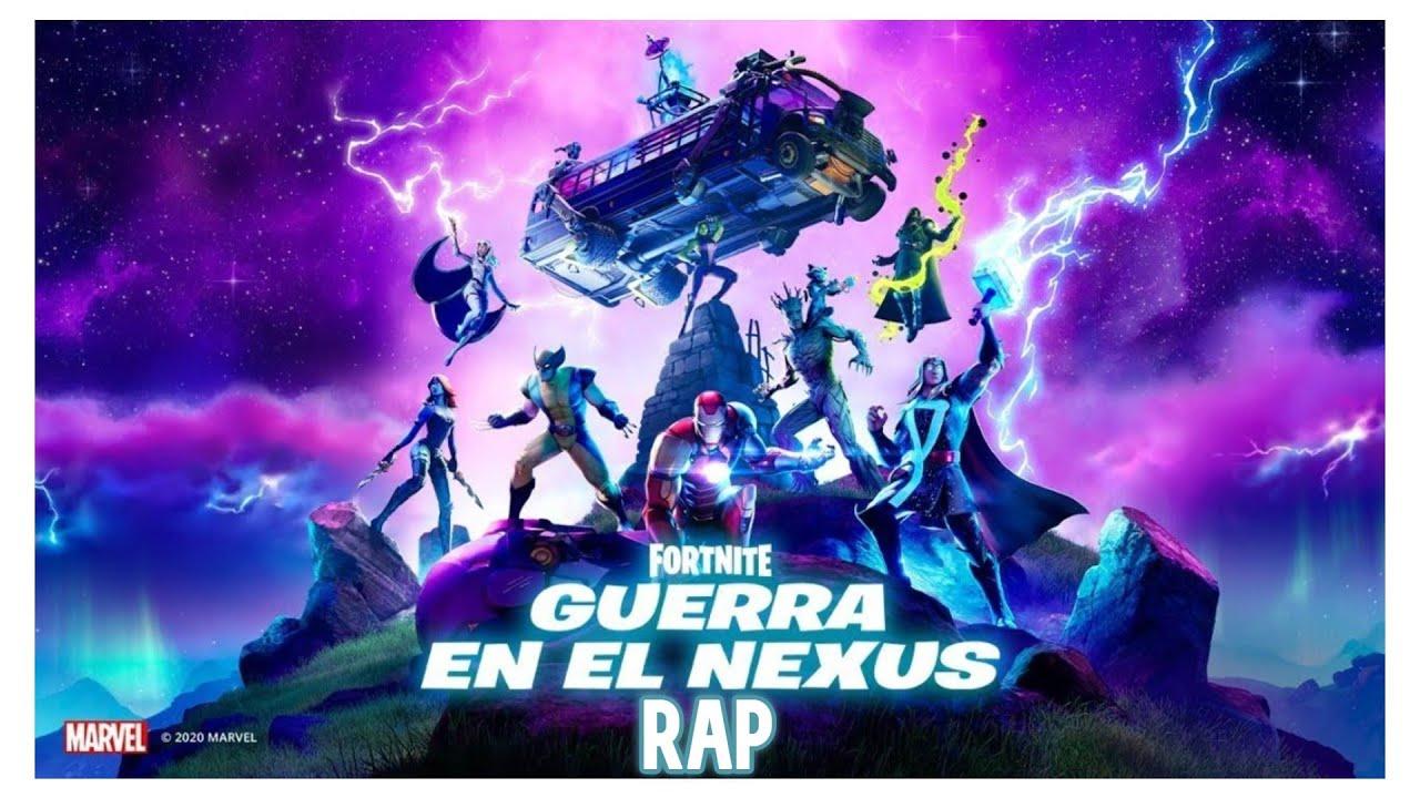 Rap De Fortnite Capitulo 2 Temporada 4 La Guerra En El Nexus Ordep Music Youtube