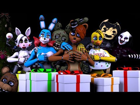 five-nights-at-anime-vs-bendy-and-the-ink-machine-sexy-christmas-pranks