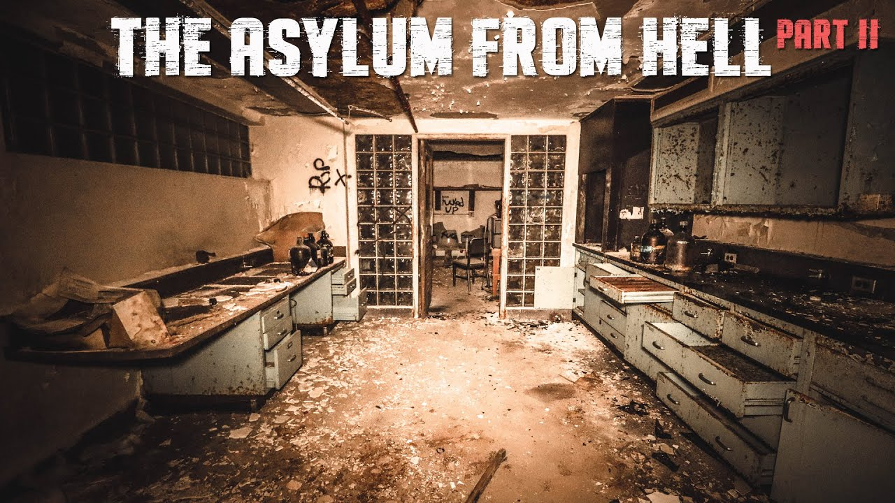 INVESTIGATING THE HAUNTED ASYLUM FROM HELL OVERNIGHT (Part 2)