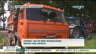 Experts: use of new technologies boosts soil fertility - Kazakh TV