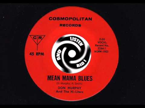 DON MURPHY Mean mama blues COSMOPOLITAN Repro Soundsample