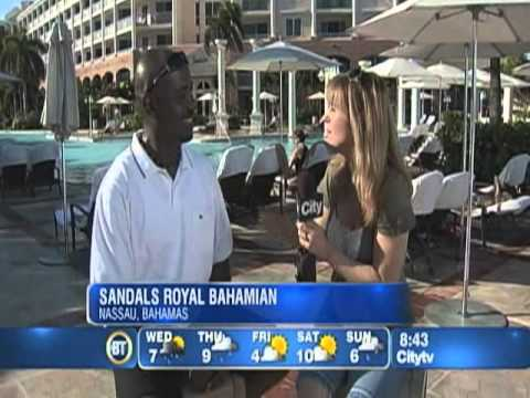Breakfast Television In The Bahamas 2010