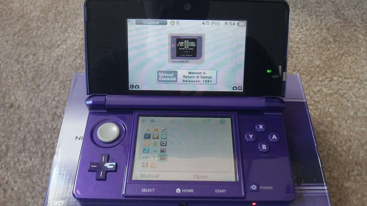 nintendo 3ds overview review midnight purple youtube. Black Bedroom Furniture Sets. Home Design Ideas