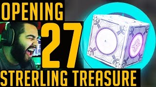 Opening 27 Sterling Treasure  Boxes (i think im crazy)