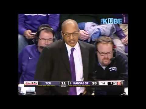 2013 K-State vs TCU Basketball-1st Half