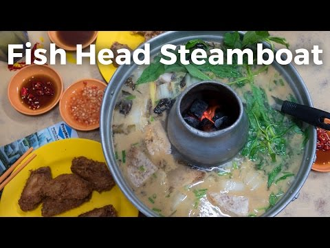 Fish Head Steamboat at Tian Wai Tian