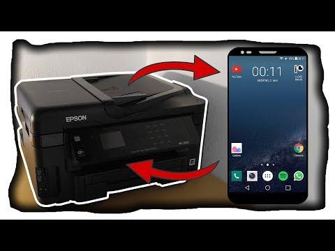 Drucken mit dem Handy! So druckst du Dateien mit dem Smartphone über WLAN! - Tutorial (Deutsch)