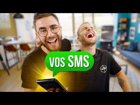 ON LIT VOS SMS CAR SON NUMÉRO A FUITÉ...