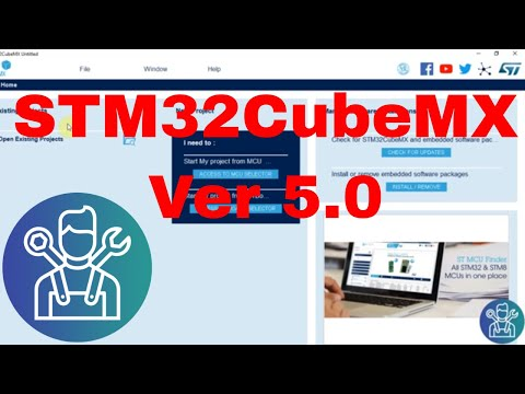 The NEW STM32CubeMX V5.0