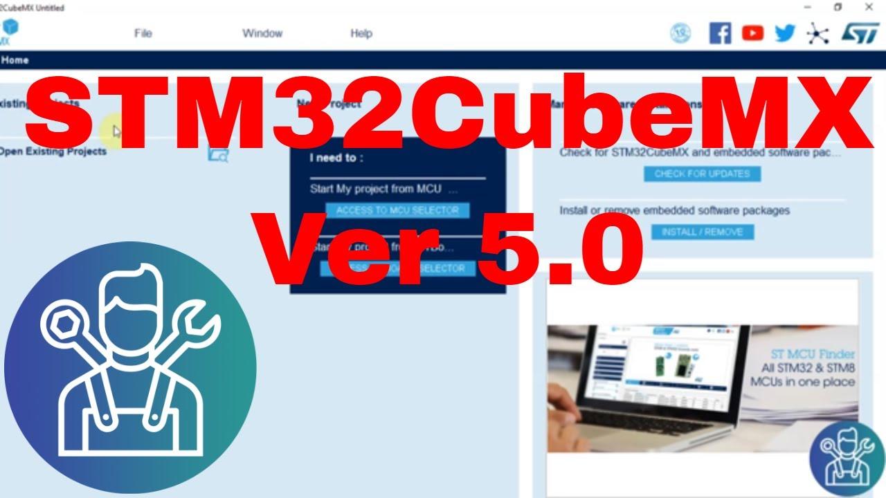 The NEW STM32CubeMX V5 0