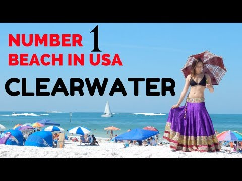 Clearwater Beach Fun Vacation 2017 | Road Trip | Florida 4K