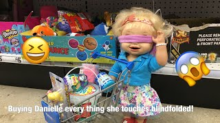 BABY ALIVE Shopping Blindfolded Challenge