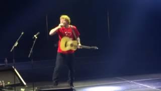 Ed Sheeran - Don't/Loyal/No Diggity/Nina @ Scottrade Center, St Louis 10/05/15
