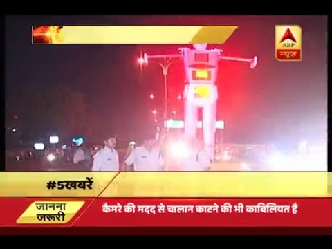 Robot installed to handle traffic in MP's Indore