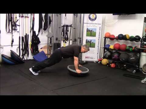 Golf Specific Exercises Using the BOSU Ball