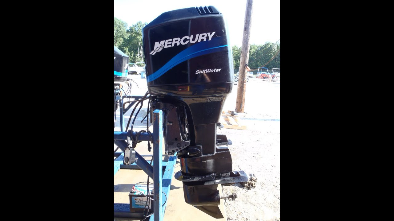 6m Used Mercury 115exlpto Saltwater 115hp 2