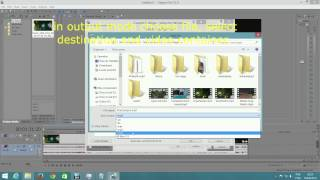 Sony Vegas Pro: Render codec x264vfw in mp4 container