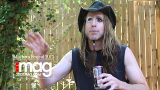 Ginger Fish Interview at Mayhem Festival 2013