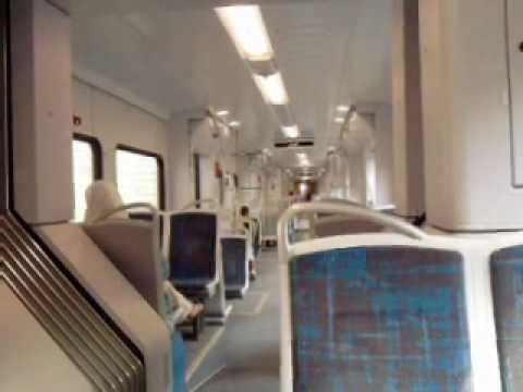 Inside Algiers suburban train (Algeria)