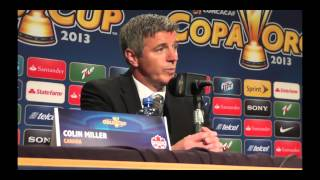 Mexico vs Canada CONCACAF Gold Cup Match Coaches Post Game Press Conference (July 11, 2013)