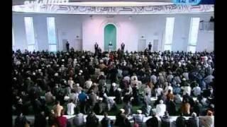Проповедь Хазрата Мирзы Масрура Ахмада (19-11-10) часть 4